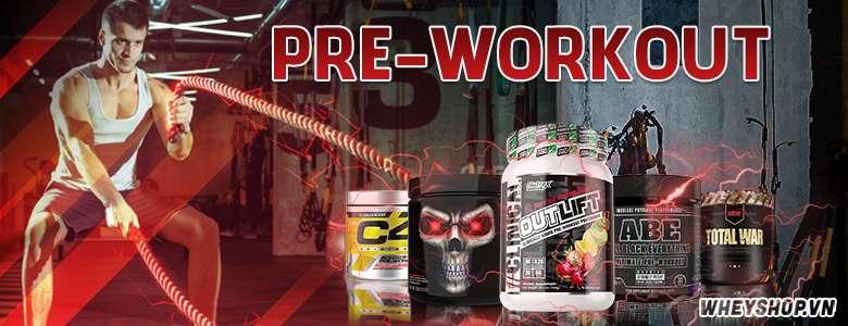Pre-workout là gì ? Pre-workout là hỗ trợ cải thiện sức mạnh , sức bền tốt nhất dành cho người tập gym , thể hình . Sản phẩm được nhập khẩu chính hãng giá rẻ