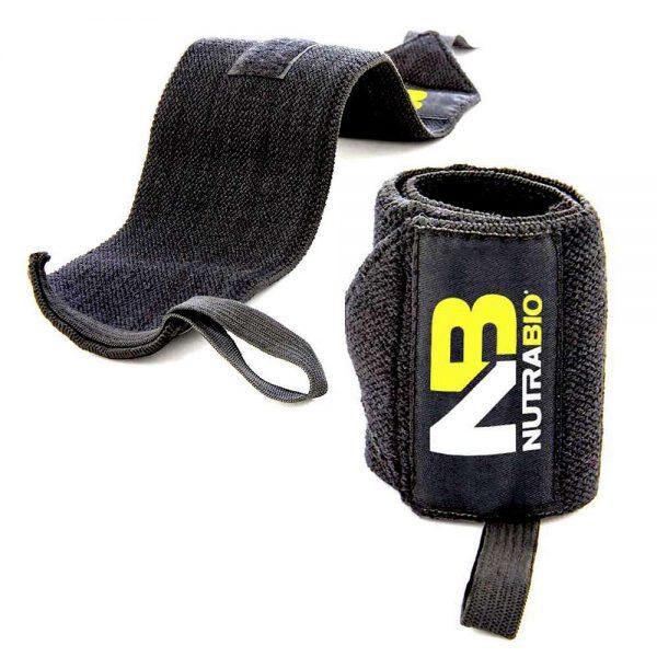 Quấn cổ tay tập gym NutraBio là phụ kiện bảo vệ cổ tay, tăng sức mạnh cho người tập gym, tập thể hình trong buổi tập luyện. Quấn cổ tay được nhập khẩu chính hãng, cam kết giá rẻ tốt nhất Hà Nội TpHCM