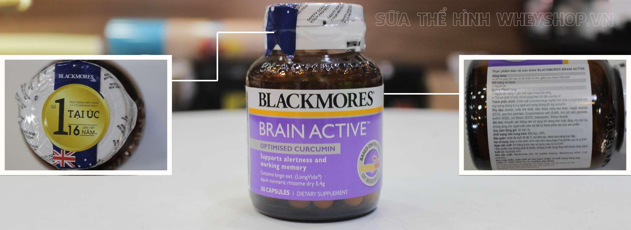 Blackmores Brain Active 30 Vien tem nhan hieu chinh hang tai wheyshop