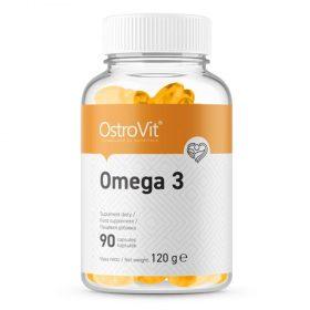 OstroVit Omega 3 là sản phẩm bổ sung Omega 3 cung cấp axit béo có lợi, thiết yếu cho sức khỏe. OstroVit Omega 3 chính hãng, chất lượng, giá rẻ nhất Hà Nội TpHCM