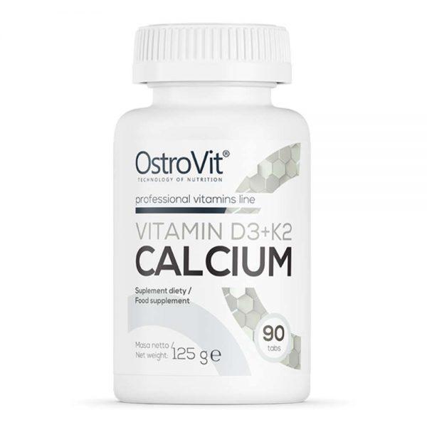 """Ostrovit Vitamin D3 K2 Calcium là công thức kết hợp """"3 in 1"""" hỗ trợ xương khớp chắc khỏe. Ostrovit Vitamin D3 K2 Calcium nhập khẩu chính hãng, giá rẻ tại Hà Nội TpHCM"""
