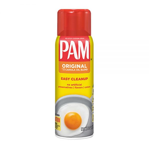 Dầu ăn kiêng PAM Original dạng xịt 0 calories giúp chiên, xào, nấu thay thế cho dầu ăn thông thường, healthy, hỗ trợ ăn kiêng, giảm cân hiệu quả lành mạnh.