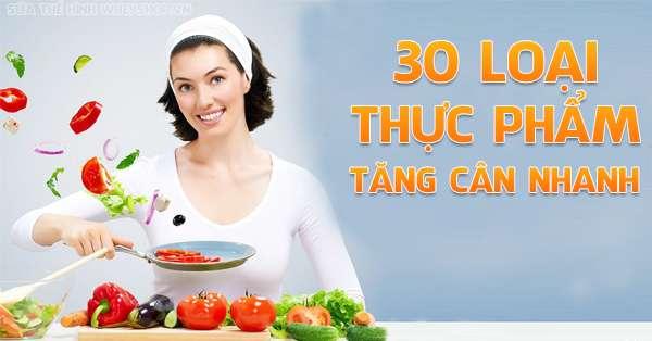 30 loai thuc pham tang can nhanh 600x314