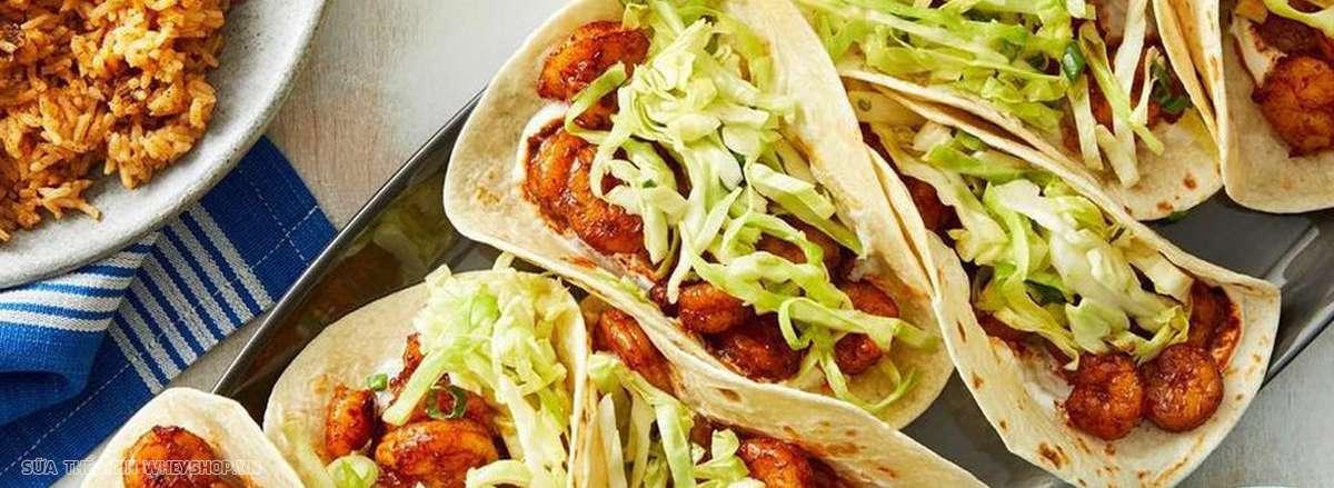tong hop 25 mon an tang can cho nguoi gaySalad thit bo kep banh tacos