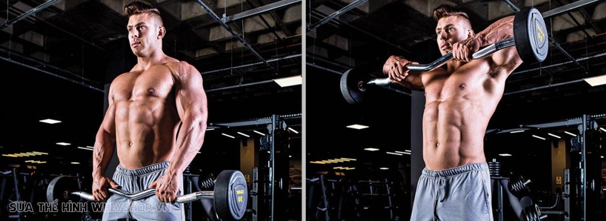 Cùng WheyShop tìm hiểu ngay 10 bài tập tăng cơ bắp cho nam hiệu quả nhất mọi thời đại. Những bài tập tăng cơ giúp bạn sở hữu cơ bắp nhanh, đơn giản, dễ dàng ...