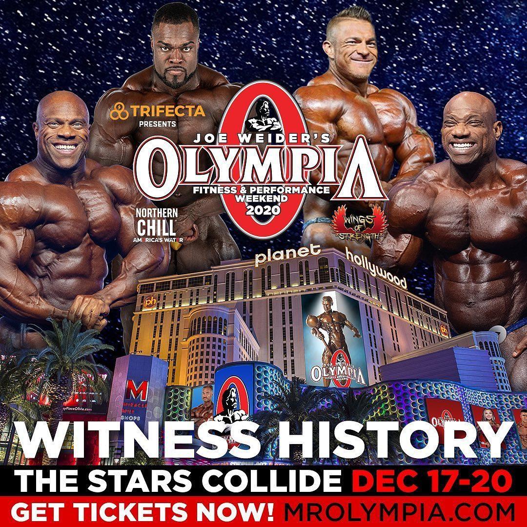 Theo như thông tin mới nhât cho biết 7x Mr. Olympia, Phil Heath đã chính thức tuyên bố trở lại sân khấu Mr. Olympia năm nay để tìm kiếm chức vô địch thứ 8...