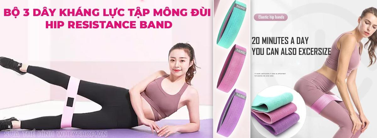Giới thiệu Dây kháng lực tập mông đùi Hip Resistance Band giá rẻ, chính hãng và những bài tập với Dây kháng lực tập mông đùi Hip Resistance Band hiệu quả nhất