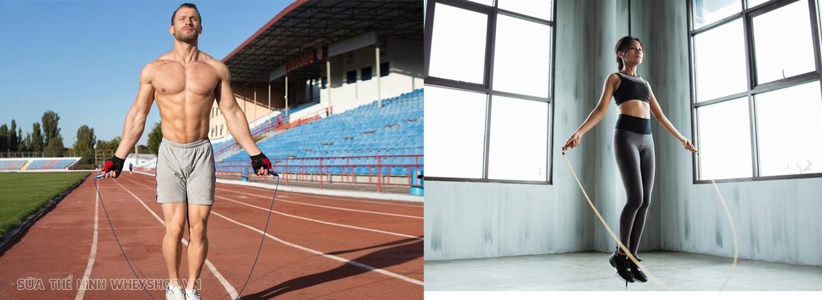 Giảm cân bằng nhảy dây có hiệu quả không ? Hãy cùng WheyShop tìm hiểu chi tiết qua bài viết để hiểu rõ lợi ích của việc giảm cân bằng nhảy dây nhé...