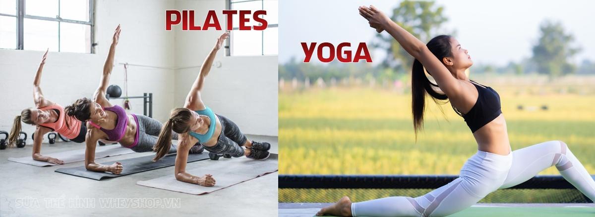 Pilates và Yoga thường bị nhầm lẫn với nhau. Cùng WheyShop đánh giá so sánh Pilates và Yoga : phương pháp nào tốt hơn ? phù hợp đối tượng nào,... qua bài viết