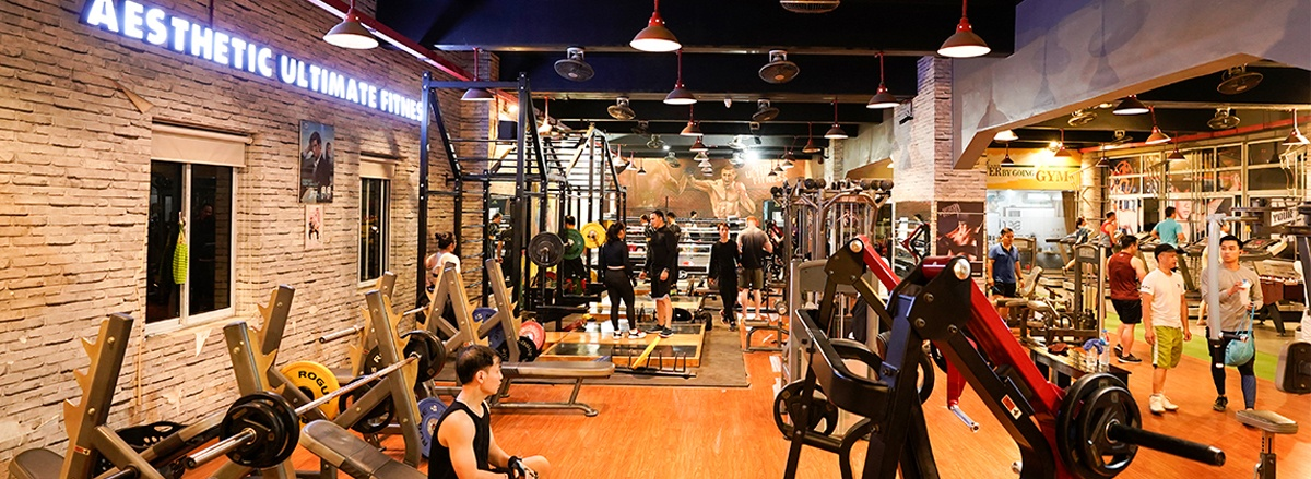 top 30 phong tap xin nhat quanh ha noi Aesthetic Ultimate Fitness AUF