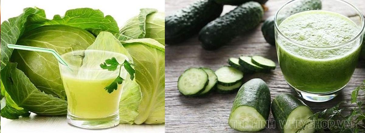 Ngoài việc áp dụng chế độ ăn kiêng thì lựa chọn nước ép giảm cân từ rau củ, hoa quả giúp đa dạng chế độ ăn, ngon miệng hơn mà lại giảm cân hiệu quả ...