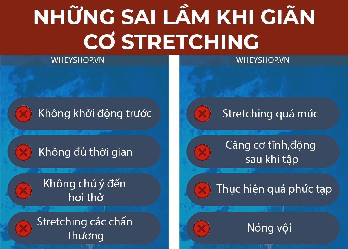 Stretching là gì ? Cùng tìm hiểu chi tiết về lợi ích của stretching và 8 sai lầm thường mắc phải khi giãn cơ qua bài viết chi tiết này nhé ...