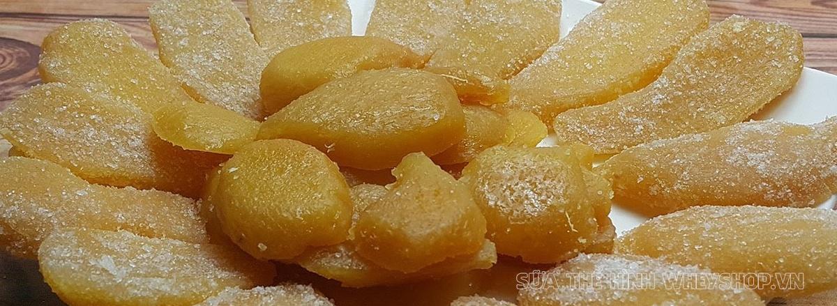 Mứt Tết là món ăn truyền thống hàng đầu trong dịp lễ Tết của người Việt Nam. Hãy cùng WheyShop tìm hiểu 10 loại mứt Tết ăn thoải mái không lo tăng cân ...