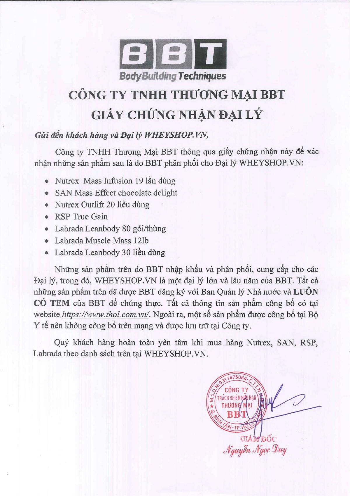 BBT là nhà nhập khẩu thực phẩm bổ sung hàng đầu Việt Nam. Vậy muốn mua sản phẩm BBT uy tín, giá rẻ tại Hà Nội TpHCM thì lựa chọn ở đâu? Cùng tìm hiểu ,...