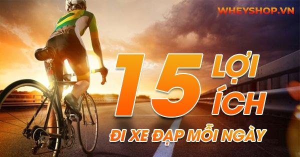 Đi xe đạp có vẻ rất đơn giản và quen thuộc. Tuy nhiên bạn sẽ muốn đi xe đạp nhiều hơn nếu biết về 15 lợi ích tuyệt vời từ việc đạp xe đạp mỗi ngày