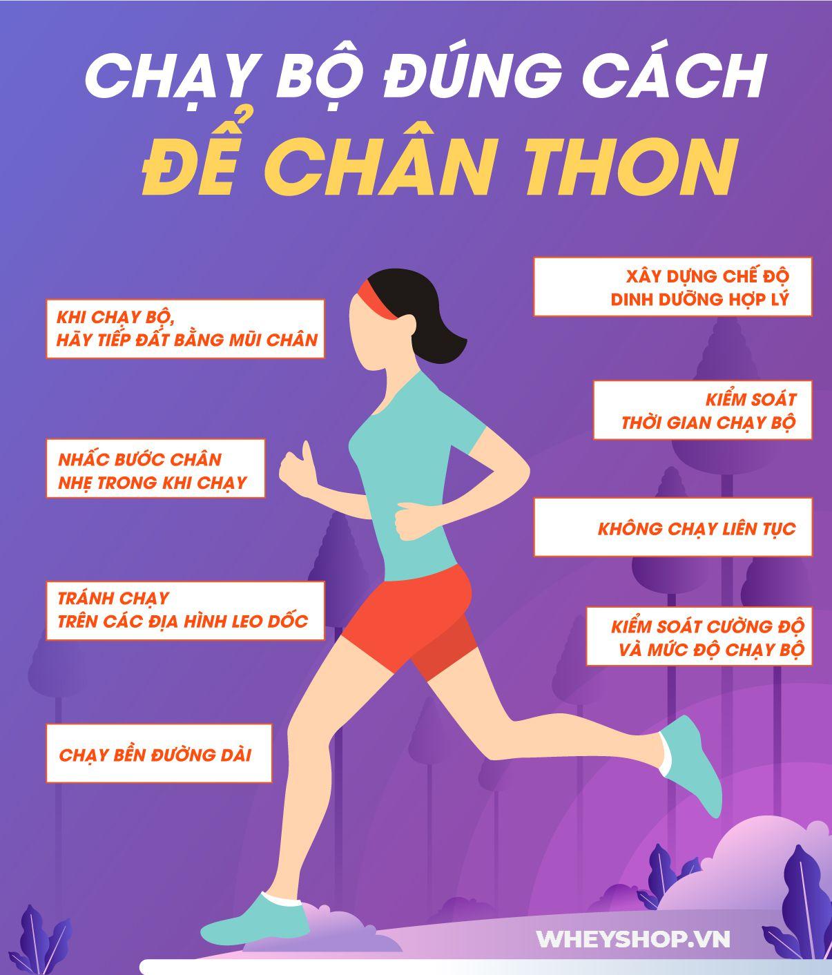 Chạy bộ là môn thể thao giảm cân hiệu quả. Vậy chạy bộ đúng cách để chân thon như thế nào? Tham khảo chi tiết tại...