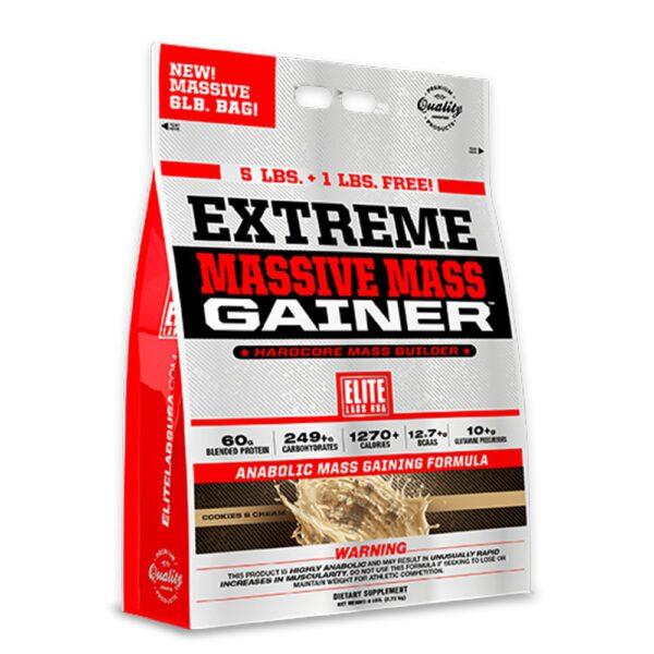 Elite Extreme Massive Mass Gainer 6lbs là sữa tăng cân tăng cơ hàng đầu, được nhập khẩu chính hãng, cam kết giá rẻ, tốt nhất Hà Nội TpHCM