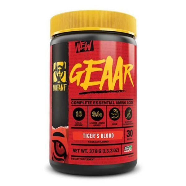 Mutant EAA GEAAR là sản phẩm bổ sung 9 nguồn amino axit thiết yếu cần thiết cho cơ bắp. Mutant EAA nhập khẩu chính hãng, giá rẻ tại Hà Nội TpHCM