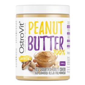 Bơ đậu phộng Ostrovit 100% Peanut Butter cung cấp thành phần nguyên chất, giàu dinh dưỡng, sản phẩm nhập khẩu chính hãng, giá rẻ tốt nhất Hà Nội TpHCM