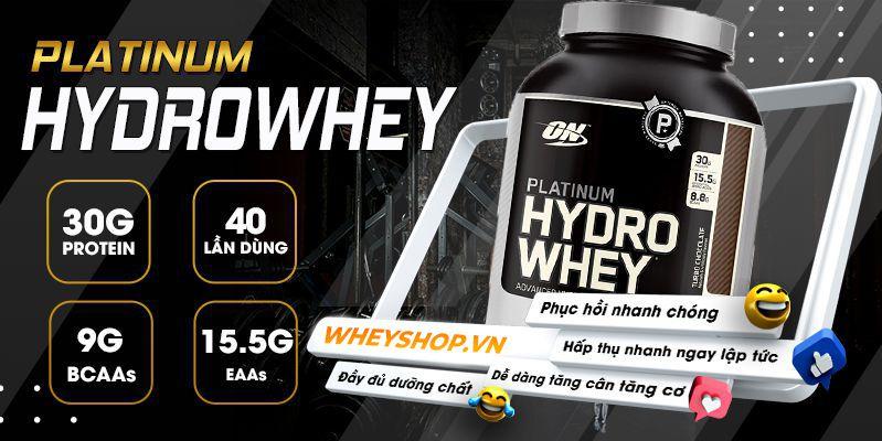 Nếu bạn đang băn khoăn trong việc đánh giá Platinum HydroWhey ON có tốt không thì hãy cùng WheyShop tham khảo chi tiết tại bài viết sau...