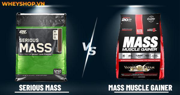 Nếu bạn đăng băn khoăn lựa chọn Mass Muscle Gainer và Serious Mass thì hãy cùng WheyShop so sánh, đánh giá chi tiết qua bài viết...