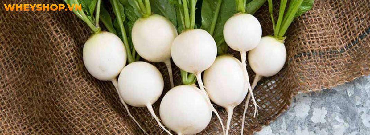 Những lưu ý khi sử dụng củ cải trắng