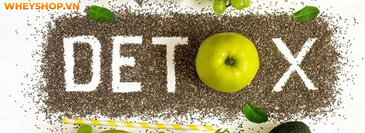 Detox là gì? Hãy cùng WheyShop tìm hiểu khái niệm chi tiết về Detox là gì và các phương pháp detox thanh lọc cơ thể, giảm mỡ hiệu quả qua bài viết...Detox là gì? Hãy cùng WheyShop tìm hiểu khái niệm chi tiết về Detox là gì và các phương pháp detox thanh lọc cơ thể, giảm mỡ hiệu quả qua bài viết...