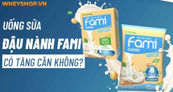 Giải đáp thắc mắc : Uống sữa đậu nành fami có tăng cân không?