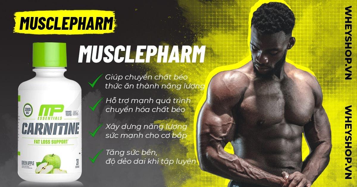 MusclePharm Carnitine Liquid là sản phẩm dạng lỏng bổ sung L-Carnitine hỗ trợ chuyển hoá mỡ thừa lành tính. Sản phẩm nhập khẩu, giá rẻ tốt nhất tại Hà Nội TpHCM