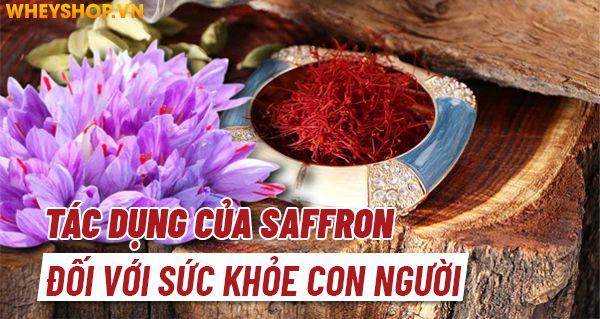 Nếu bạn đang tìm hiểu về nhuỵ hoa nghệ tây Saffron là gì thì hãy cùng WheyShop điểm qua 5 tác dụng của Saffron trong bài viết ngay nhé...