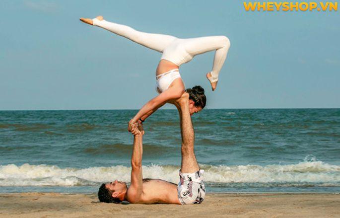 Acro Yoga là gì? Cùng WheyShop tìm hiểu về lợi ích tuyệt vời của Acro Yoga và hướng dẫn cách tập dành cho người mới qua bài viết...