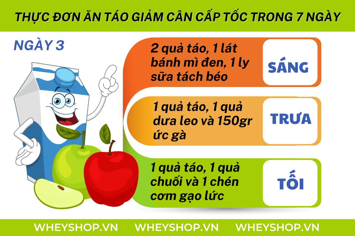 Nếu bạn đang băn khoăn tìm hiểu cách ăn táo giảm cân hiệu quả thì hãy cùng WheyShop tham khảo chi tiết bài viết ngay sau đây nhé...