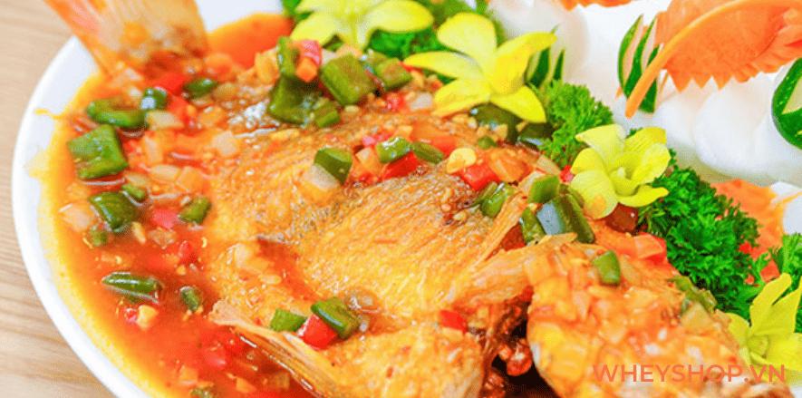 Có nhiều cách chế biến cá sốt cà chua tùy theo vùng miền và loại cá được sử dụng trong chế biến. Bài viết dưới đây WheyShop giúp các bạn học cách chế biến...