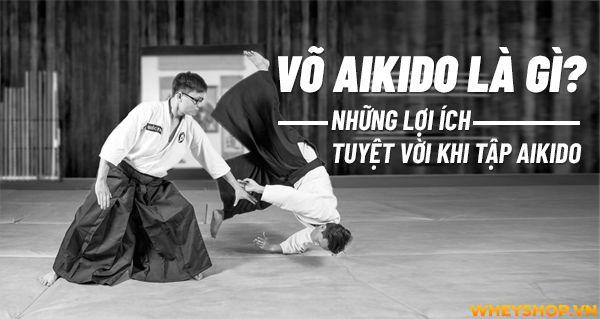 Võ Aikido là gì?Những lợi ích tuyệt vời khi tập Aikido