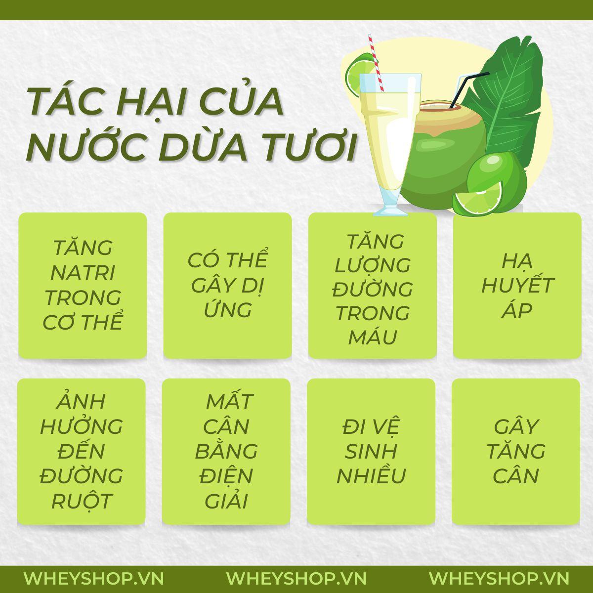 Nước dừa từ trước đến nay luôn là một loại thức uống ưa thích bởi những lợi ích với sức khoẻ. Tuy nhiên, bạn đã hiểu hết tác hại của nước dừa tươi chưa?...
