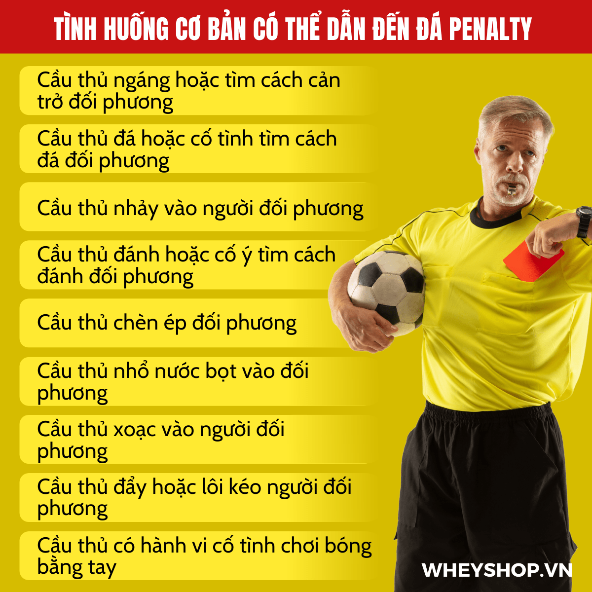Có thể nói phạt đá Penalty là tình huống ảnh hưởng quan trọng đến kết quả tỉ số chung cuộc nhất. Tại sao lại nói vậy? Xin mời các bạn cùng tìm hiểu về luật...