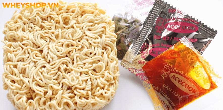 Mì gói là một món ăn tiện lợi và dễ chế biến của nó. Tuy nhiên vẫn còn nhiều thắc mắc về vấn đề ăn mì tôm có béo không? 1 gói mì tôm chứa bao nhiêu calo ?...