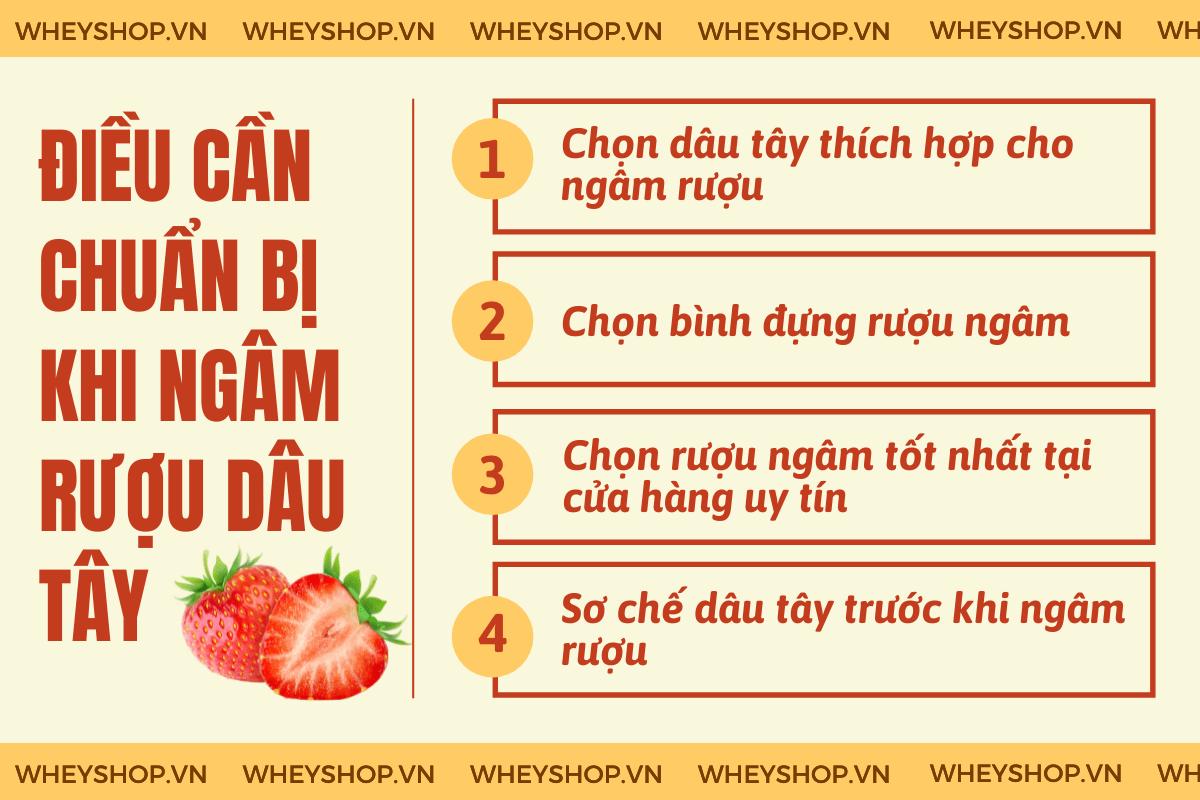 Rượu dâu tây là thức uống bồi bổ sức khỏe rất tốt được ưa chuộng với các tác dụng như hỗ trợ tiêu hóa, sảng khoái tinh thần,... Vậy cách ngâm rượu dâu tây...  Title