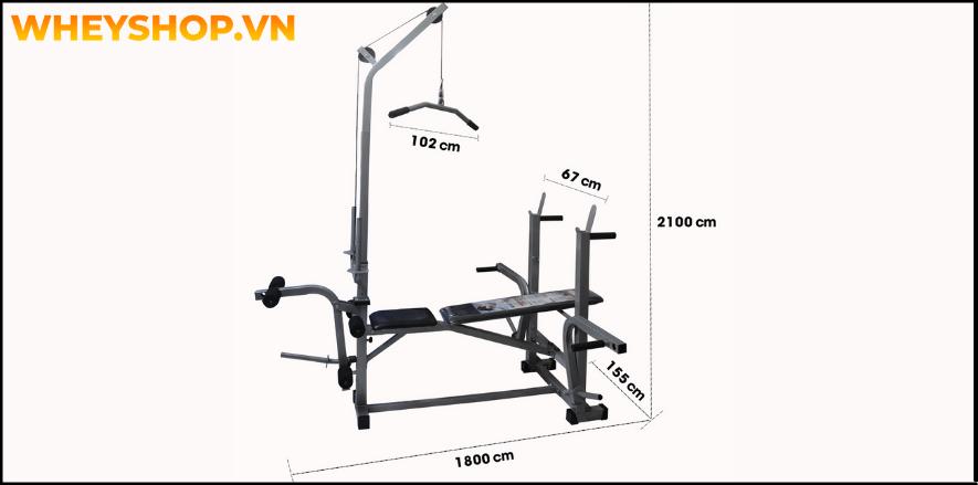 Giàn tạ đa năng là thiết bị phổ biến của các tín đồ tập gym, nó được ví như một phòng tập gym thu nhỏ ở chỗ được tích hợp nhiều bài tập thể hình, từ đơn giản...