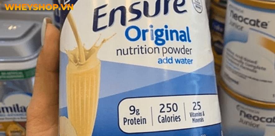 Nếu bạn đang băn khoăn trong việc có nên dùng sữa Ensure cho người tiểu đường hay không thì hãy cùng WheyShop tham khảo chi tiết bài viết...