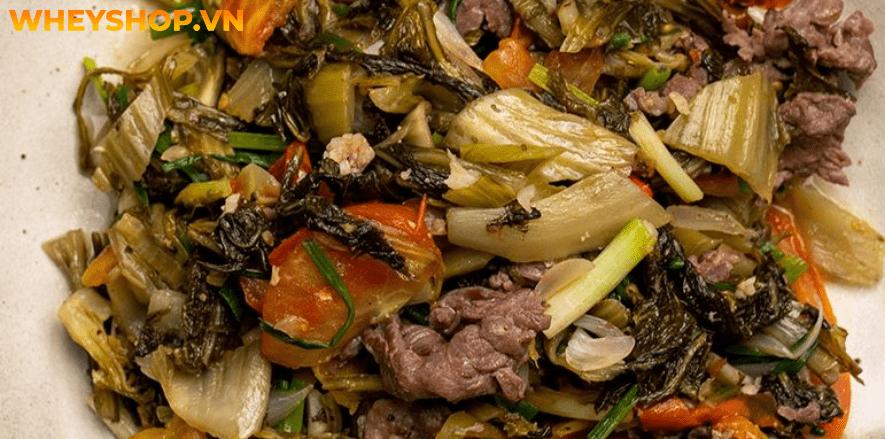 Thịt bò từ lâu đã được coi là loại thịt đỏ tốt cho sức khỏe. Bài viết dưới đây WheyShop sẽ giúp bạn giải đáp thắc mắc thịt bò nấu gì ngon ? Xin mời các bạn...