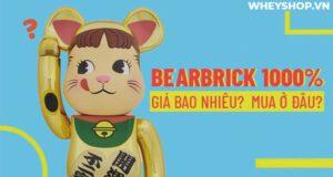 Bearbrick 1000% là phiên bản Bearbrick lớn nhất và có giá trị nhất. Cùng WheyShop tìm hiểu về Bearbrick 1000% qua bài viết...