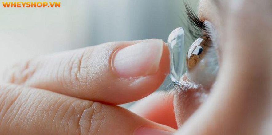 Kính áp tròng được ưu tiên sử dụng vì chúng sẽ không để lại bất kỳ vết hằn nào trên sống mũi và không bị rối như trường hợp của các loại kính thông thường....