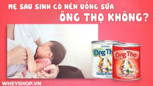 Phụ nữ mới sinh con phải đối mặt với nhiều lo lắng, băn khoăn về sức khỏe, chế độ ăn uống, tinh thần. Vậy mẹ sau sinh có nên uống sữa ông Thọ không? Xin mời...