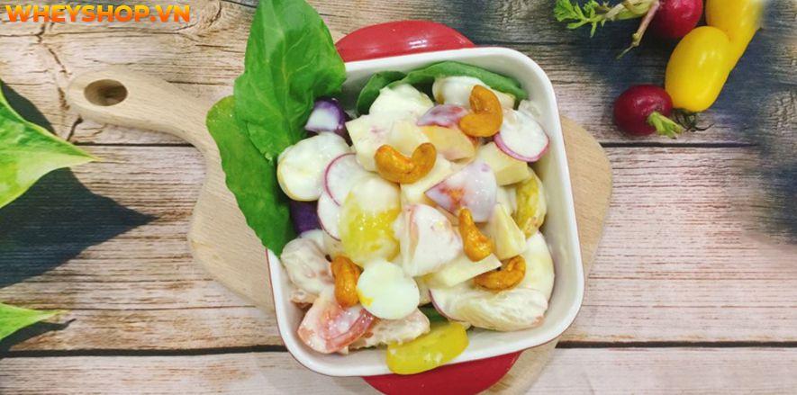 Nếu bạn đang băn khoăn tìm cách giảm cân thì hãy cùng WheyShop tham khảo 10+ cách làm Salad giảm cân đơn giản mà hiệu quả bất ngờ tại...