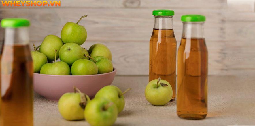 Nếu bạn đang băn khoăn giấm táo giảm cân hiệu quả không thì hãy cùng WheyShop tìm hiểu cách giảm cân bằng giấm táo và những lưu ý khi sử dụng...